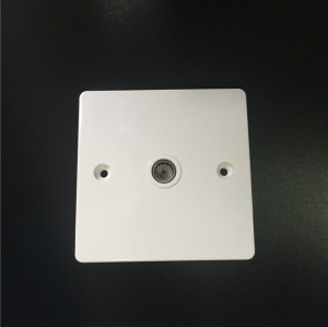1 gang  TV socket