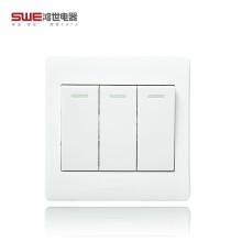 高品质86型开关插座 经济款PC面料H5G系列墙壁面板开关 开关插座