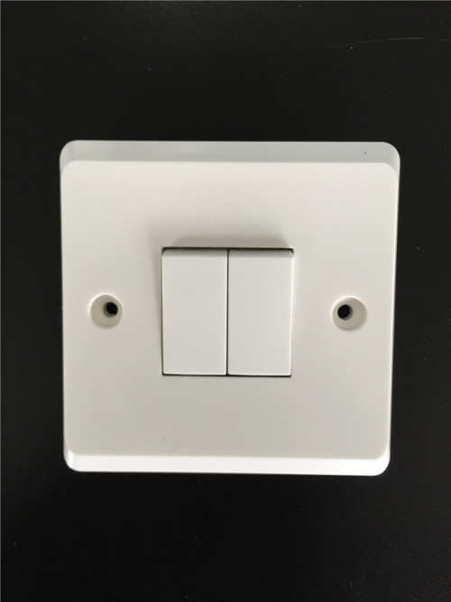 2 Gang Plate Switch 10AX 250V