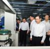杭州市长徐立毅莅临鸿世电器视察指导