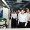 Xu Liyi , mayor of Hangzhou, paid an inspection visit to Hongshi on 9th May