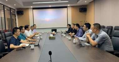 向智能化产业迈进 --记杭州涂鸦信息技术有限公司董事长兼总裁陈燎罕一行来访