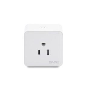 US Standard Smart Wifi Plug Socket Work with Alexa/Google Home Timing/Remote Control/Power Metering