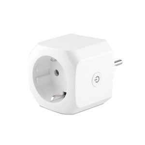 EU Wifi Smart Socket Outlet Power Metering/Timmer Function Electrical Plug Socket for Alexa Google
