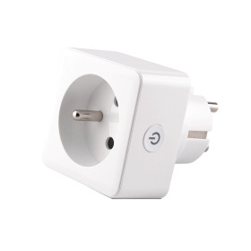 French Standard Smart Socket with Power Metering Function Smart Plug Wifi Remote Control