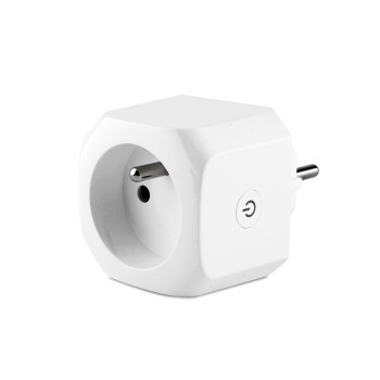 French Standard Smart Plug Wifi Remote Control Smart Socket with Power Metering Function