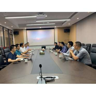 Marching towards the intelligent industry-Hangzhou Tuya Information Technology Co., Ltd. Chairman of the Board and President Chen Yihan and his party visited Hongshi