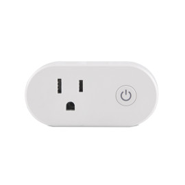 US Standard Wifi Smart Plug Socket Support Alexa/Google Home Timing/Remote Control/Power Metering
