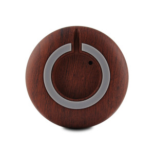Black Wood Grain Smart IR Remote Control