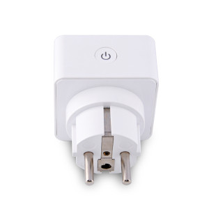 WIFI EU Standard Smart Plug with Socket Support Alexa Voice Control