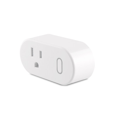 US 125V Smart Wifi Plug Socket Support Alexa/Google Home Timing/Remote Control/Power Metering