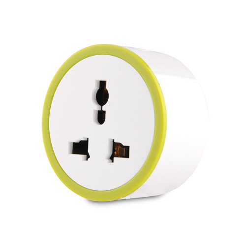 10A India Standard Smart Socket with Power Metering Function Smart Plug Wifi Remote Control