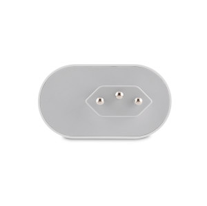 10A Brazil Standard Smart Socket with Power Metering Function BR Mini Smart Plug Wifi Remote Control