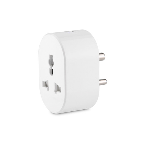10A India Standard Smart Socket with Power Metering Function Wifi Remote Control Smart Plug