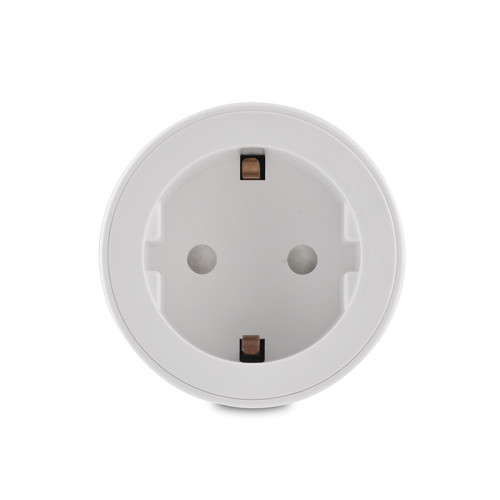 EU Wifi Smart Plug Outlet Power Metering/Timmer Function Electrical Socket for Alexa Google