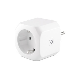 Bluetooth Gateway Plug Socket EU Standard Smart Power Wifi Plug with Built-in BLE Gateway Tuya Module