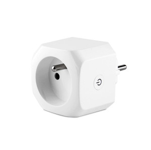 Wifi Plug with Built-in BLE Gateway Tuya Module Bluetooth Gateway Plug Socket French Standard Smart Plugs
