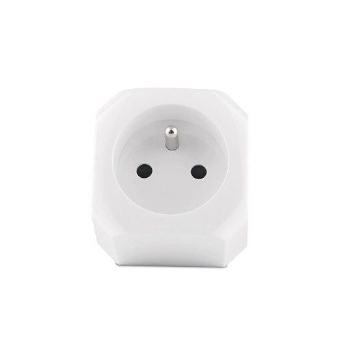 Wifi Plug with Built-in BLE Gateway Tuya Module Bluetooth Gateway Plug Socket French Standard Smart Plugs