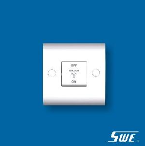 3-Pole Fan Switch 10A 250V (H Range)