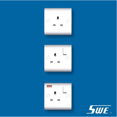 1 Gang Socket Outlet 13A (H Range)