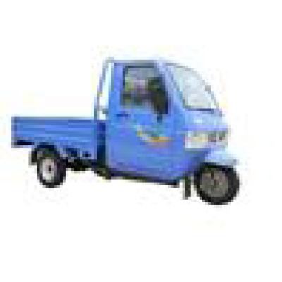 Triciclo de carga con cabina