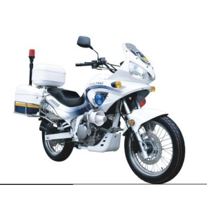 600CC police motorcycle