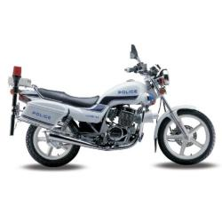 250CC Police Motorcycle