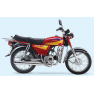 Motocicleta JH70 (Pedal de arranque)