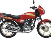 Jialing 125CC Red Motorcycle