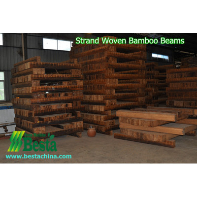 Strand Woven Bamboo Beams Making Machine