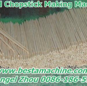 Round Chopstick Making Machine