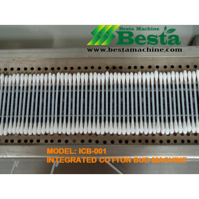 ICB-001 Integrated Cotton Bud Making Machine, Cotton Swab Machine