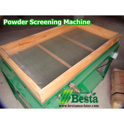SM-001 Powder Screening Machine, Incense Machine