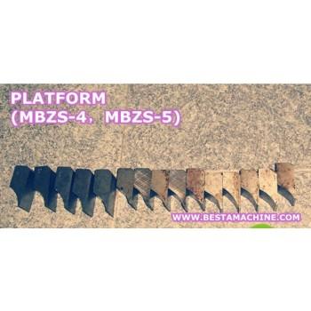 Platform for MBZS-5 o MBZS-4