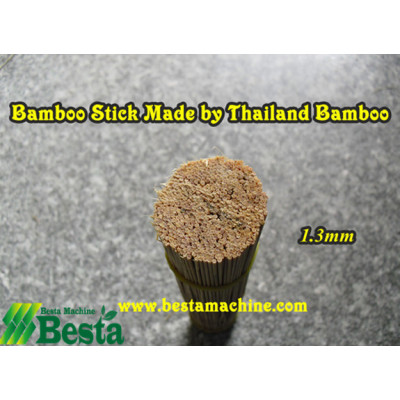 Thailand Bamboo Stick Made by Our Machine