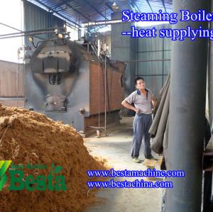 Steaming Boiler, Bamboo Flooring Machine