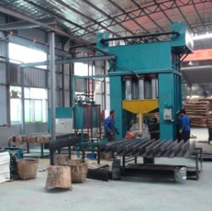 Strand Woven Bamboo Flooring Machine (key machine)