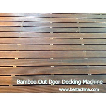 Bamboo Furniture Board, Bamboo Outdoor Decking Machine
