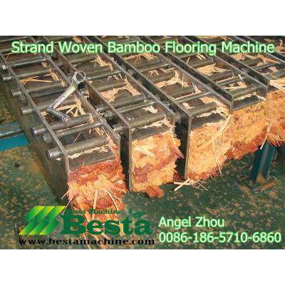 Raw Materials Preparation for Strand Woven Beam Making