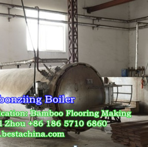 Bamboo Flooring Machine, Carbonizing Boiler