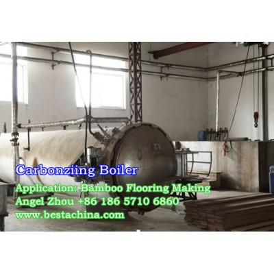 Bamboo Flooring Machine, Carbonizing Boiler