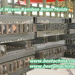 Strand Woven Bamboo Beam Molds