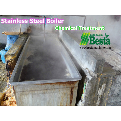 Stainless Steel Boiler, Chemical Treatment