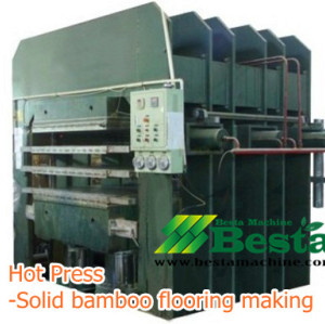 Bamboo Flooring Making Machine, Solid Bamboo Flooring Machine