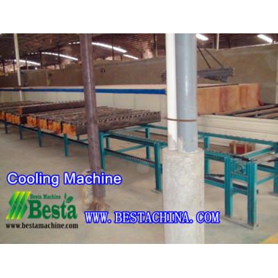 Cooling Machine,Strand Woven Bamboo Flooring Machine