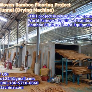 Drying Machine, Strand Woven Bamboo Flooring Machine