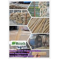 Bamboo Stick Making Machines