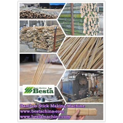 Bamboo Stick Making Machines