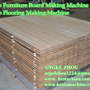 Strand Woven Bamboo Furniture Board Machine