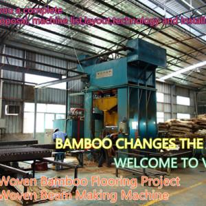 Bamboo processing machine, Bamboo Beam Making Machine